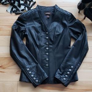 Danier - leather jacket/blazer